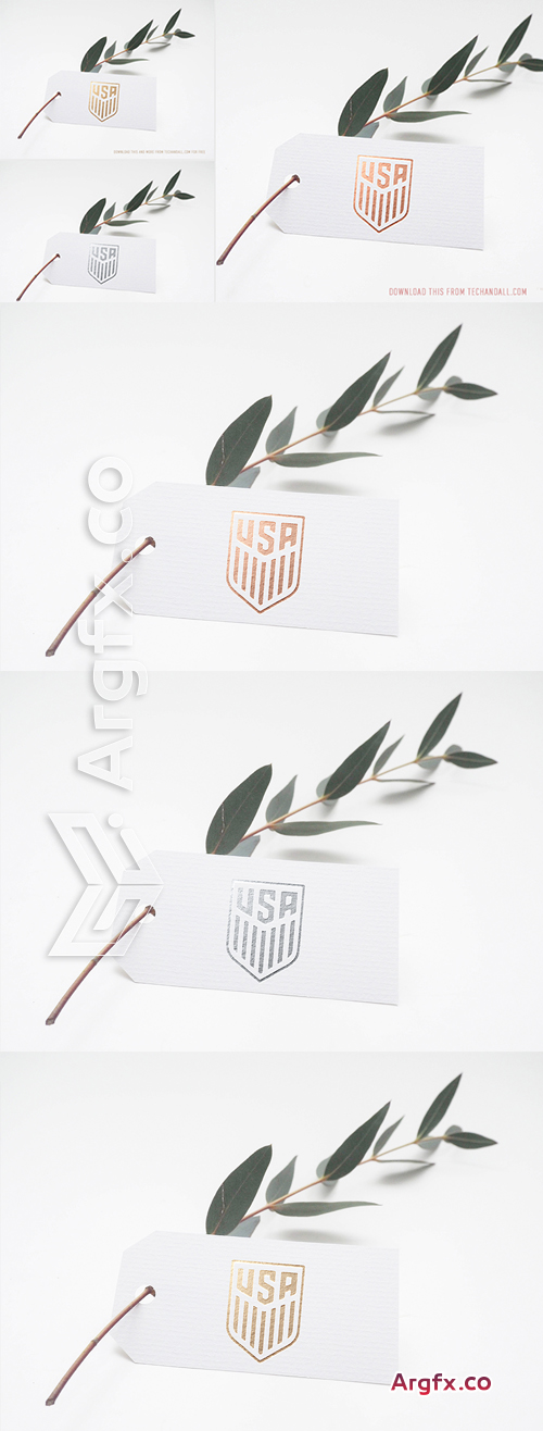 Copper Gold & Silver Logo Mockups