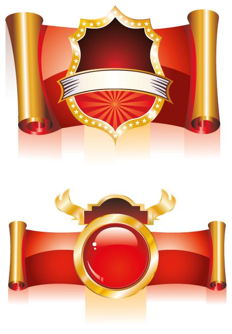 مجموعة  أوسمة حمراء
