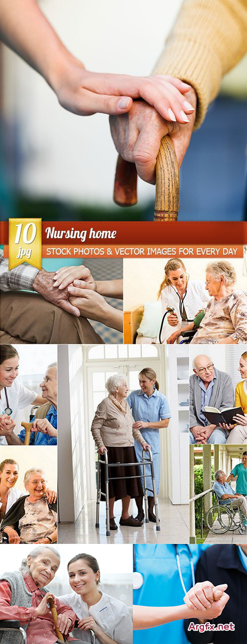 Nursing home, 10 x UHQ JPEG